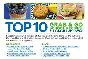 Top Ten Grab & Go School Recipes