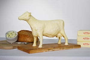 DIY Butter Cow Sculpting Challenge