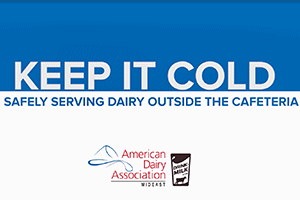 Safely Serving Dairy Outside the Cafeteria
