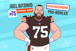 Joel Bitonio's Get Up & Go One Cup Fuel Up Shake