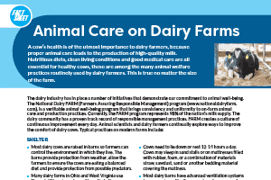 Dairy Fact Sheet Collection