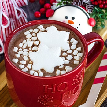 Photo of Melting Snowman Hot Chocolate Bombs