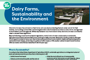 Fact Sheet: Environment & Sustainability