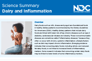 Science Summary: Dairy and Inflammation