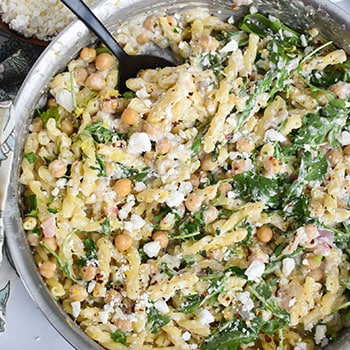 Photo of Chickpea Pasta with Feta