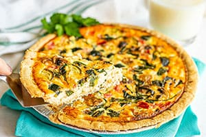 Veggie Lovers Quiche