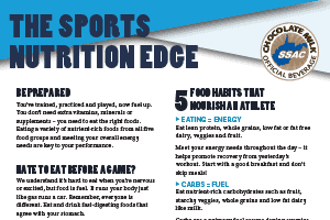 The Sports Nutrition Edge WVSSAC Series