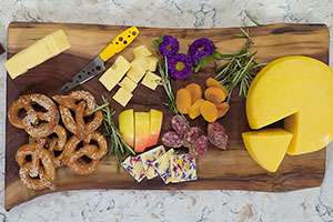 How to Build an Ohio Swiss Cheese Board
