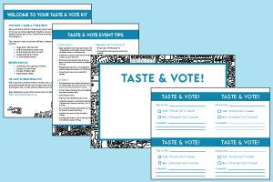 Taste & Vote School Kit