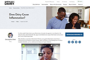 Does Dairy Cause Inflammation?